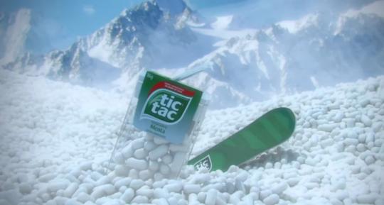 Snowboard - Tic Tac
