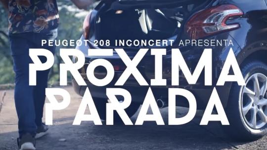Peugeot 208 Inconcert - Próxima Parada EP01