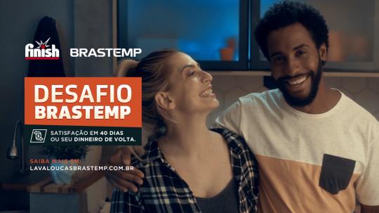 Finish Brasil & Brastemp - Desfio Brastemp