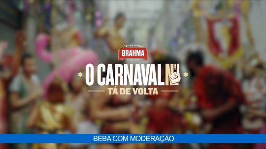 Brahma - O Carnaval N°1 Está de Volta