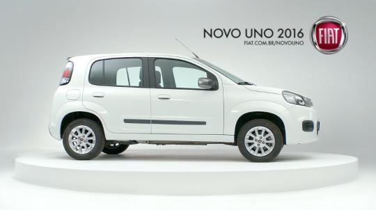 Novo Uno 2016 - Pancada