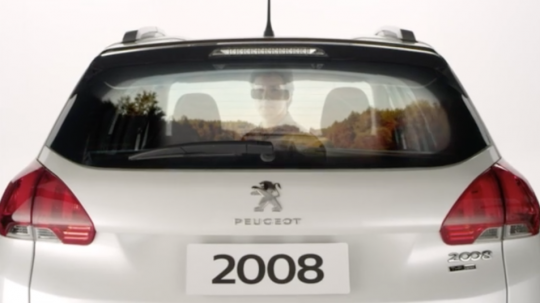Reflexos - Peugeot