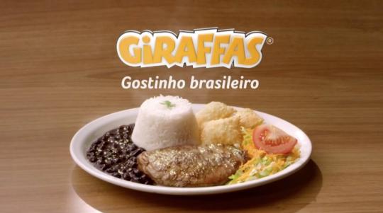 Giraffas - Gostinho Brasileiro