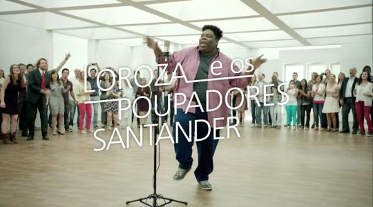 Poupar é Pop (Loroza) - Santander