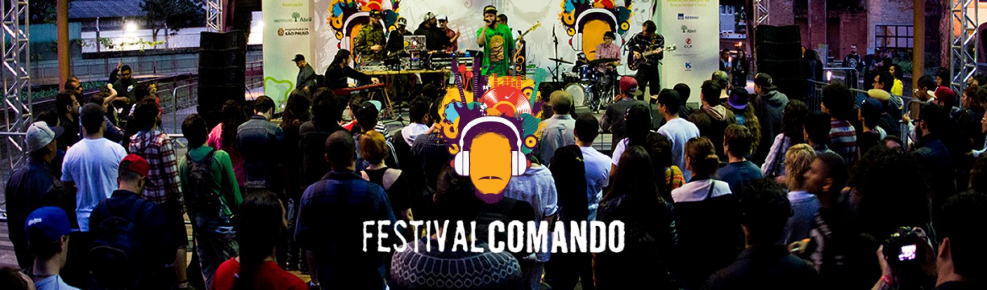 Festival Comando produtora de audio sp